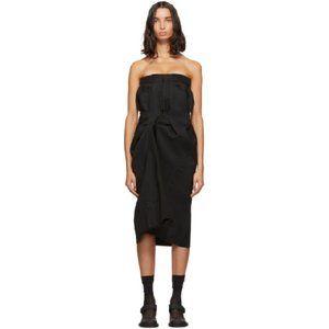 Martin Margiela AW 19 draped corset dress
